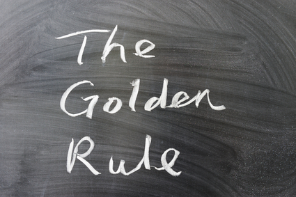 The golden rule
